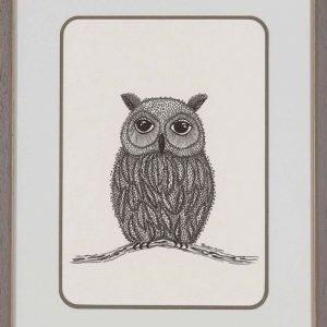 Owl – Contemporary Pen & Ink