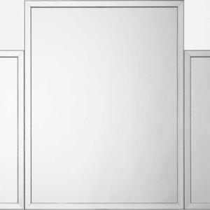 Art deco mirror – 5 segments