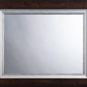Custom Mirror, double frame, dark parquet